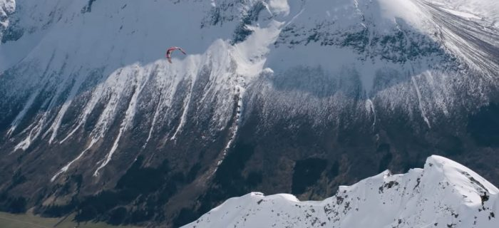 Jesse Richman Snowkiting | Pushing the Limits