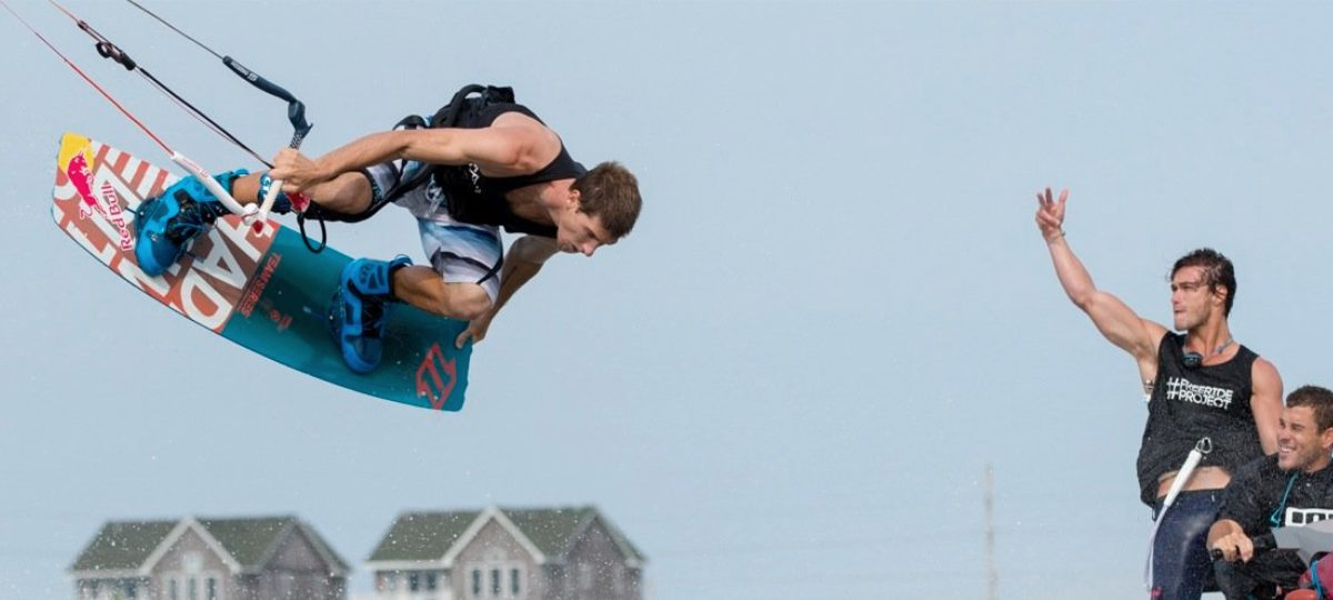 Aaron Hadlow - Professional Kiteboarder
