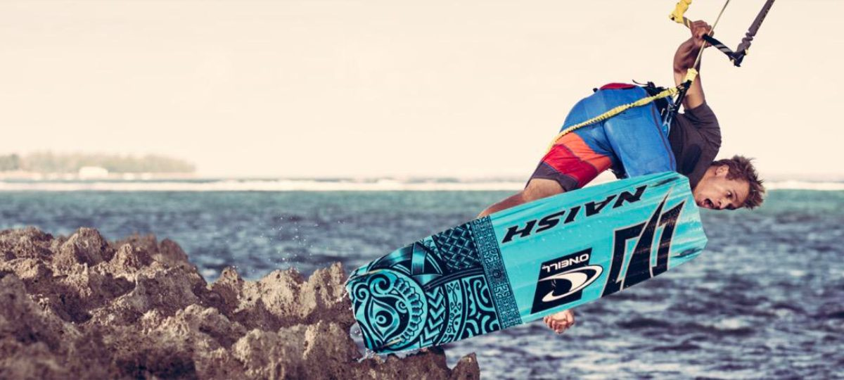 Kevin Langeree - Professional kiteboarder from the Netherlands.