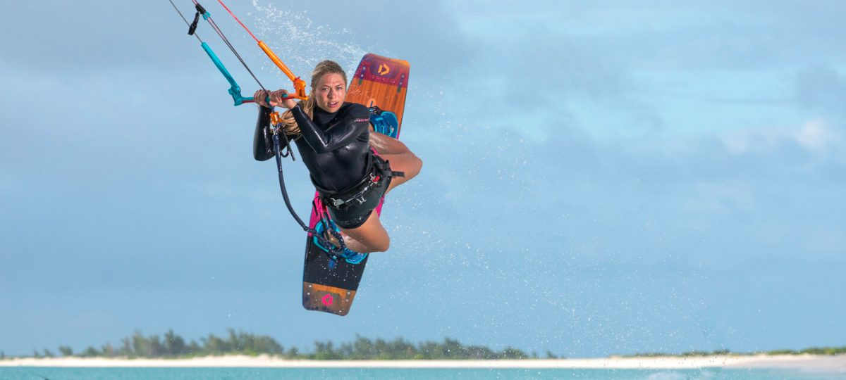 Hannah Whiteley - Professional Kiteboarder