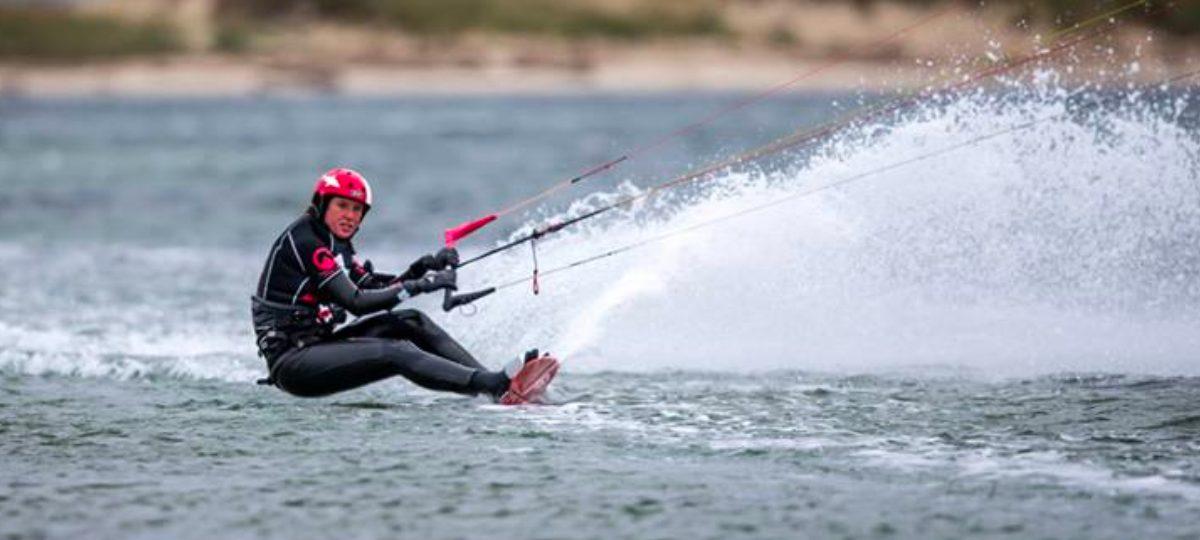 Marine Tlattla - Kitesurfing