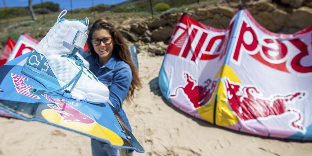 Gisela Pulido - Professional Kiteboarder form Spain.