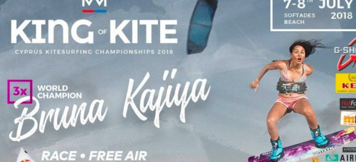 King of Kite 2018 with Bruna Kajiya @Kahuna Surfhouse