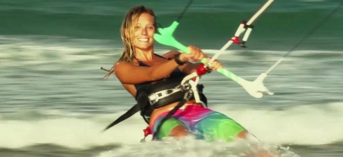 Kitesurfing with Susi Mai - Red Bull Airstyle 2012 Dominican Republic