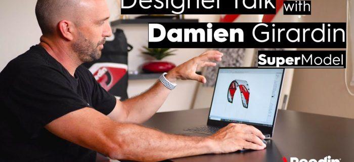 Design talk on the Reedin Supermodel kite with Damien Girardin
